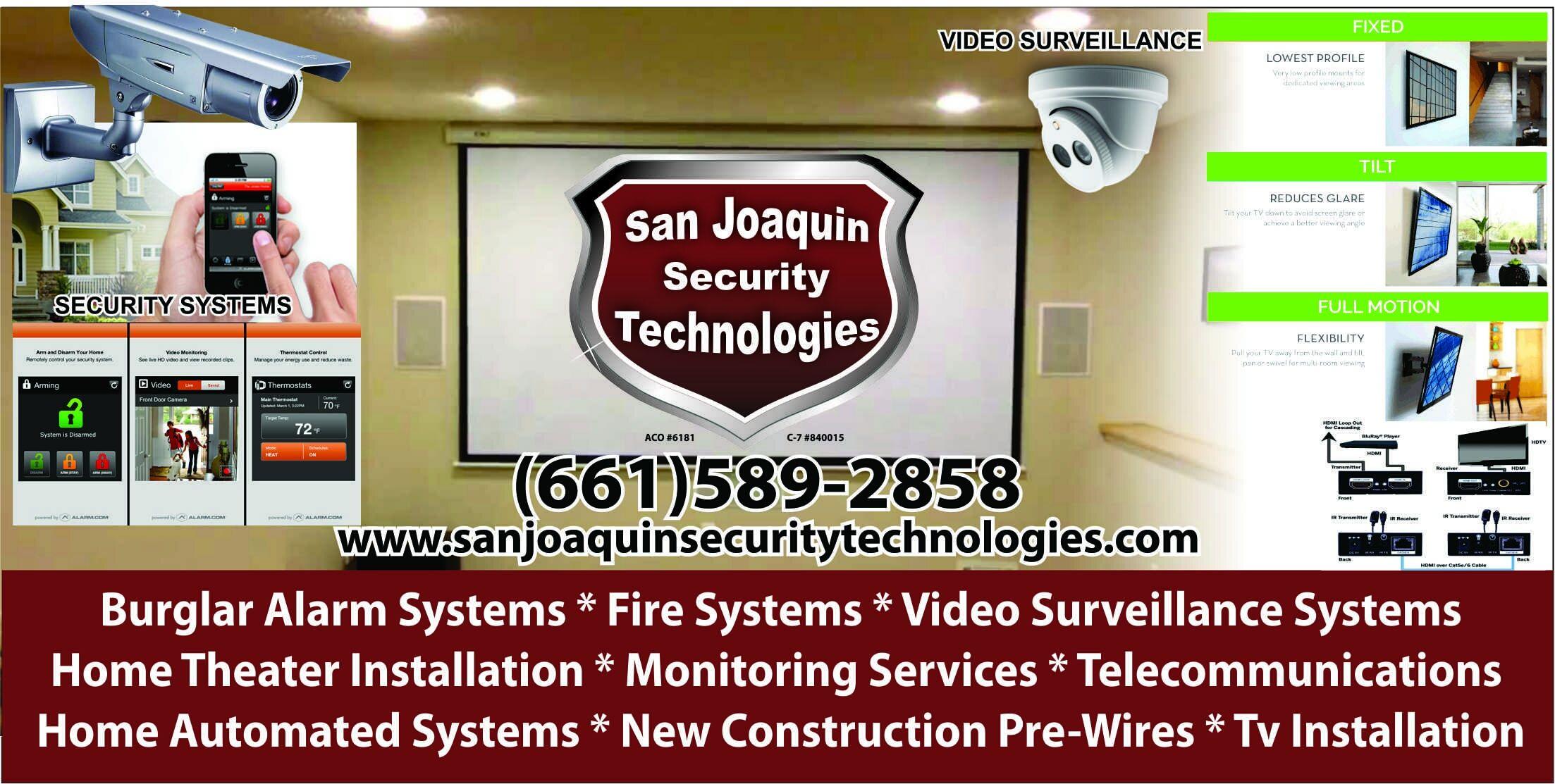 Shafter Ca Video Surveillance San Joaquin Security Technologies New Construction Wiring Home Theater 812 Walker Street 93263 877 890 7836